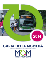 CARTA DELLA MOBILITÀ 2014