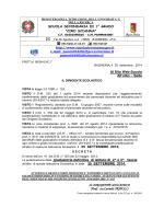 decreto - Bagheria - Scuola statale secondaria di I grado a indirizzo
