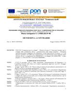 """DETERMINA A CONTRARRE C1 - Istituto Magistrale """"T. Gulli"""""""