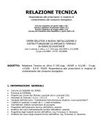 RELAZIONE TECNICA - Istituto Comprensivo Statale Lauropoli