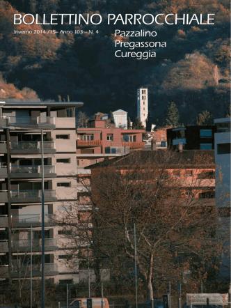 BOLLETTINO PARROCCHIALE - Parrocchia Pazzalino Pregassona