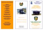 programma 1° corso aspiranti guardie ambientali volontarie comunali