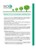Presentazione Progetto SOE