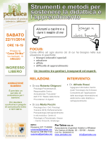 Sabato 22 Novembre 2014 - Liceo scientifico Redi