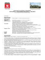 Innovazione e Sostenibilità Newsletter n. 30/2014