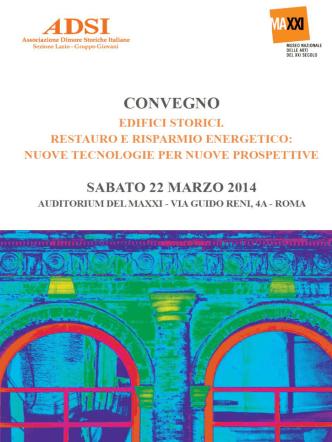 Brochure relatori - Associazione Dimore Storiche Italiane