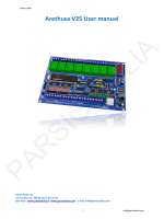 V25 Scheda microcontroller PIC16F887