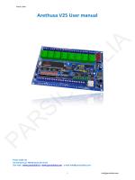 V25 Scheda microcontroller PIC16F887