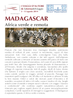 MADAGASCAR - viaventisettembre.it