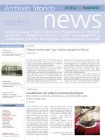 Newsletter 20 - Progetto Cultura