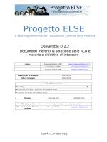D2.2 - Progetto ELSE