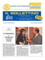 n. 32 del 10 giugno 2014 - Rotary Club Romano di Lombardia