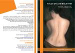 focus on low back pain - Ordine Provinciale dei Medici Chirurghi e