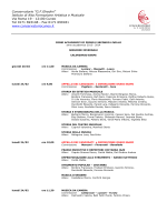 calendario accademici febbraio 2014