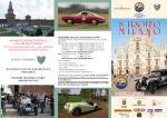 Pieghevole Trofeo Milano 2014 - Club Milanese AutoMotoveicoli d