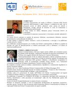 Curricula relatori master - Commercialista Marche Commercialista