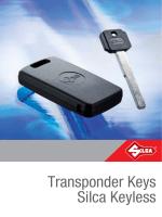 Transponder Keys Silca Keyless