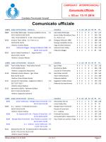 Comunicato n. 03 2014-15