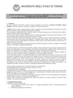 Bando - Domanda - Programma - Ordine dei farmacisti della