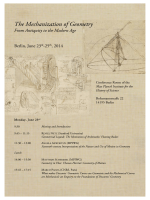 Schedule - Max Planck Institute for the History of Science