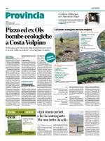 Pizzo ed ex Ols bombe ecologiche a Costa Volpino