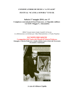 Sabato 17 maggio ore 17 - Conservatorio Antonio Vivaldi