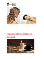 piano offerta formativa ( pof ) a.f. 2014/15