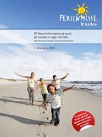 25a fiera di informazione ed eventi per vacanze e viaggi, San