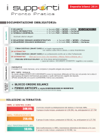 offerta bilanci 2014 - I Supporti Pronto Pratica PP Italia Srl