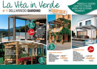 Arredo Giardino in Offerta - Il Parametro Arredamenti Cremona