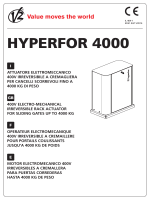 HYPERFOR 4000 - Manual de instrucciones (I,GB,F,E)