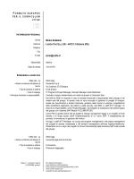 Cv Europeo Italiano - Ingegneria - Università degli Studi di Ferrara