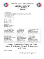 Laurea 15 POM - Università degli Studi di Perugia