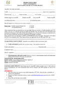 Delegate Accommodation Booking Form