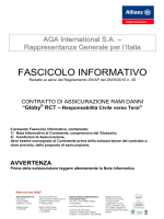 Fascicolo Informativo Globy RCT - allianz - globy