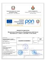 QUADRO ECONOMICO PROGETTO ESECUTIVO Manutenzione