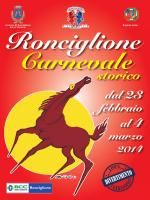 Scarica il libretto - Carnevale di Ronciglione
