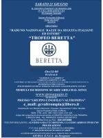 Locandina Trofeo Beretta - Società Italiana Pro Segugio