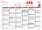 Unser Service für Sie: Der Jahresplaner 2015