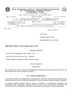 DIRETTIVA al DSGA - Anno Scolastico 2014 - Terracina