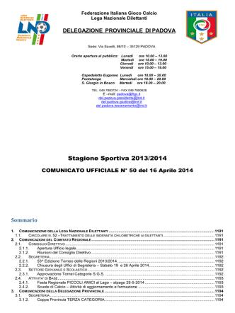Com_N 50 - FIGC Veneto