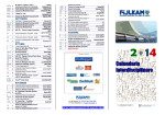 FIJLKAM Calendario Interdisciplinare 2014