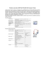 Titolatore automatico METTLER TOLEDO G20 Compact Titrator