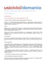 T.A.R. Lazio Roma Sez. I ter, Sent., 26-03-2014, n