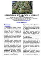 Informazioni orticoltura no. 03/2014