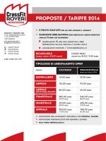PROPOSTE / TARI E 2014