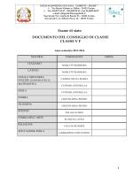 5F -DOCUMENTO 15 MAGGIO - Liceo scientifico Gobetti Segrè