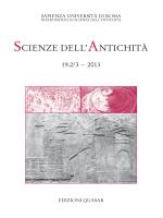 Indice volume 19.2-3 - Università di Roma