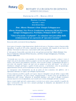 1 marzo 2014 - Golfo di Genova