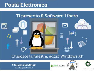 Claudio Cardinali - GNU/Linux User Group Perugia